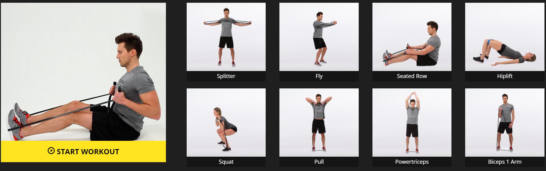 Тренировка с ластици за цяло тяло - LetsBands